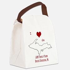 Yooper Love Canvas Lunch Bag