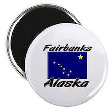 Fairbanks Alaska Magnet