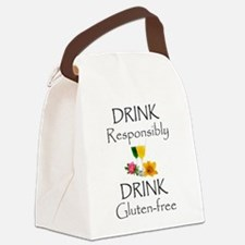 Drink Responsibly Gluten-Free Canvas Lunch Bag