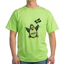 Sweden Penguin T-Shirt