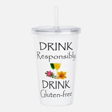 Drink Responsibly Acrylic Double-Wall Tumbler