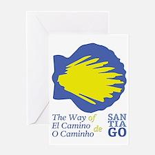 Unique Camino de santiago Greeting Card