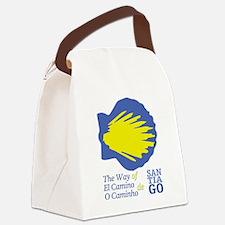 Unique Camino de santiago Canvas Lunch Bag