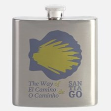 Unique Camino de santiago Flask