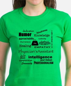 Physician Assistant Word Cloud T-Shirt