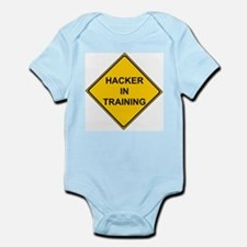 """Hacker In Training"" Infant Creeper"