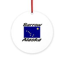 Barrow Alaska Ornament (Round)
