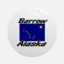 Barrow Alaska Ornament (Round)
