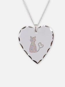 Pattern Cat Necklace