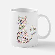 Pattern Cat Mugs