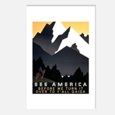 See America Before We Tur Postcards (Package of 8)