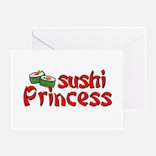 Sushi Princess Greeting Card