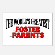 """The World's Greatest Foster Parents"" Postcards (P"