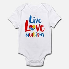 Live Love Autism Infant Bodysuit