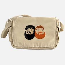 Bearded Bros logo Messenger Bag