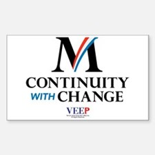Veep Continuity Change Decal