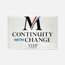 Veep Continuity Change Rectangle Magnet
