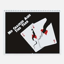 Poker Graphics Wall Calendar