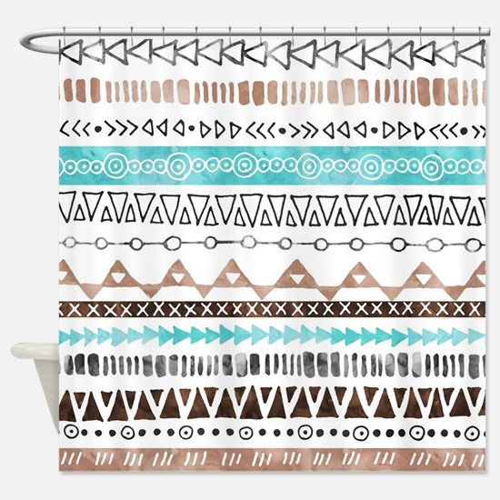 Cool Tribal Shower Curtain