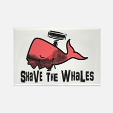 Shave The Whales Magnets