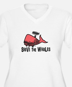 Shave The Whales Plus Size T-Shirt