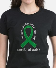 Cerebral Palsy Grandson Ribbon T-Shirt