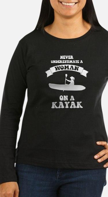 Cute Womens kayak T-Shirt
