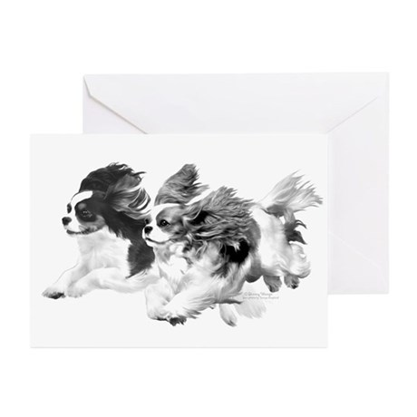 Cavaliers - Pencil Greeting Cards (Pk of 20)