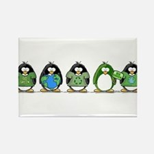 Eco-friendly Penguins Magnets