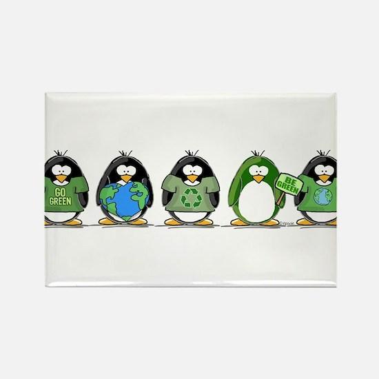 Eco-friendly Penguins Magnets