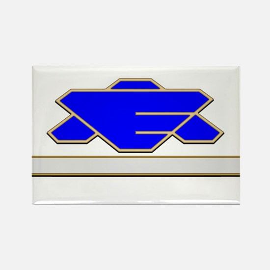 Command Staff Rectangle Magnet
