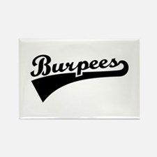 Burpees Rectangle Magnet (10 pack)