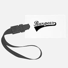 Burpees Luggage Tag