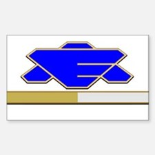 Executive Officer Sticker (Rectangle)