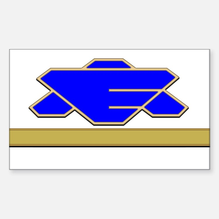 Commander Sticker (Rectangle)
