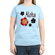 Hibiskus Aloha T-Shirt