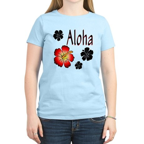 Hibiskus Aloha Women's Light T-Shirt