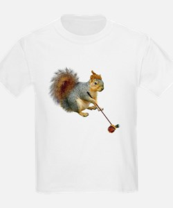 Squirrel Acorn Golf T-Shirt