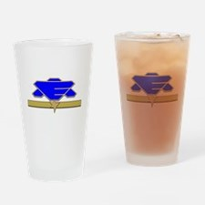 Flag Officer Drinking Glass