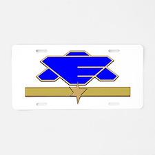 Flag Officer Aluminum License Plate