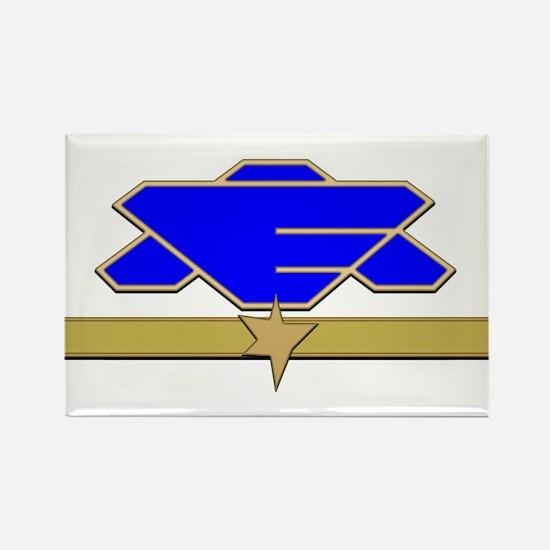 Flag Officer Rectangle Magnet