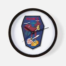 179th Ash Co - Vn War Svc Ribbons Wall Clock