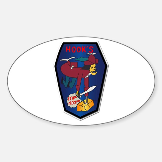 179th Ash Co - Vn War Svc Ribbons Sticker (oval)