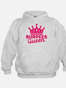 Burpees queen Hoodie