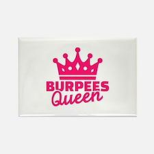 Burpees queen Rectangle Magnet