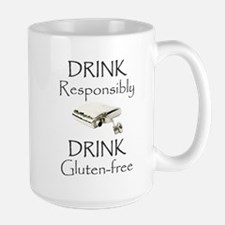 Drink Responsibly Drink Gluten-Free Flask Mugs