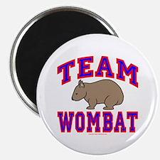 Team Wombat VI Magnet