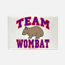 Team Wombat VI Rectangle Magnet