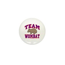 Team Wombat VI Mini Button (10 pack)