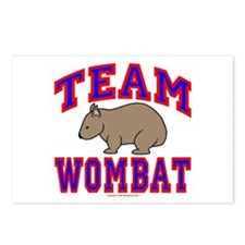 Team Wombat VI Postcards (Package of 8)